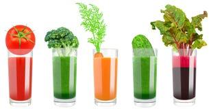 蔬菜汁 免版税库存图片