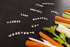 蔬菜汤成份 库存照片