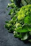 蔬菜沙拉和圆白菜 免版税图库摄影