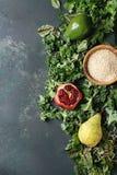 蔬菜沙拉混合 免版税库存照片