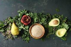 蔬菜沙拉混合 图库摄影