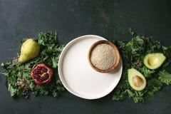 蔬菜沙拉混合 免版税库存图片
