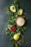 蔬菜沙拉混合 库存照片