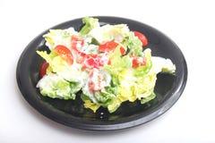 蔬菜沙拉蕃茄 免版税库存图片