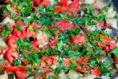 蔬菜炖肉蔬菜 库存照片