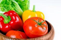 蔬菜特写镜头 免版税库存照片