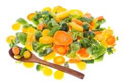 冻结蔬菜的混合 库存图片