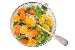 冻结蔬菜的混合 图库摄影