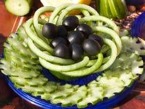 蔬菜静物画 库存照片