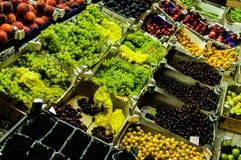蔬菜水果商 库存照片