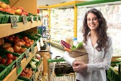 蔬菜水果商s 库存照片