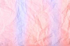 蔷薇石英和平静纸纹理 库存照片