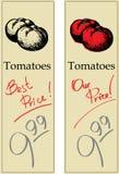蕃茄二 库存照片