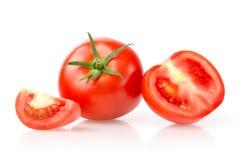 蕃茄和切片 免版税图库摄影