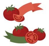 蕃茄商标 免版税库存图片