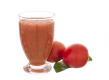 蕃茄圆滑的人汁 免版税库存照片