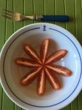 蕃茄快餐 库存照片