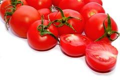 蕃茄有白色背景 免版税库存图片