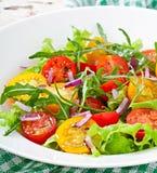 蕃茄沙拉 库存图片