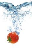 蕃茄深深地属于水 免版税库存照片
