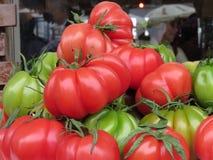 蕃茄的颜色 免版税库存图片