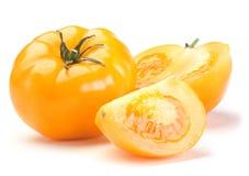 蕃茄黄色 免版税库存图片
