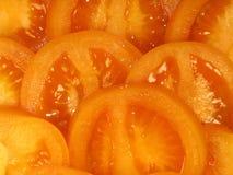 蕃茄黄色纹理 库存图片