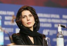 蕾拉・哈塔米出席`猪` 库存图片
