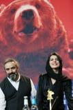 蕾拉・哈塔米,哈桑Majuni 免版税库存图片