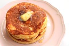 薄煎饼早餐 免版税库存图片