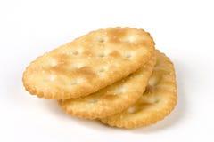 薄脆饼干三重奏 库存图片