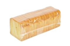 薄脆饼干一个被密封的小包  库存图片