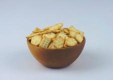 薄脆饼干和椒盐脆饼 图库摄影