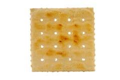 薄脆饼干撒盐饼干 免版税库存图片