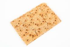 薄脆饼干用芝麻 免版税图库摄影