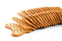 薄脆饼干 免版税库存照片