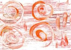 薄荷的奶油色抽象水彩背景 免版税图库摄影