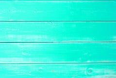 薄荷的绿色木背景,拷贝空间 库存图片