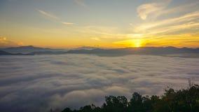 薄雾泰国海  免版税库存照片