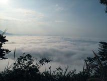 薄雾海运 库存图片