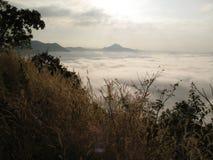 薄雾海运 库存照片