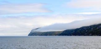 薄雾的海岛 免版税库存图片