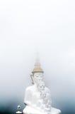 薄雾的菩萨 库存图片