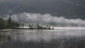 薄雾Vesteraalen 库存图片