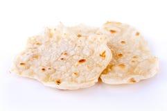 薄饼或印第安Roti 库存照片