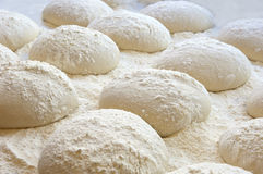 薄饼或面包的面团 库存照片