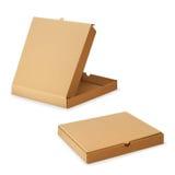 薄饼的纸板箱 向量例证
