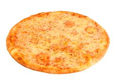 薄饼Margherita用乳酪 库存照片