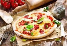 薄饼Margherita 免版税图库摄影