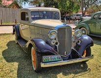 1932年薛佛列五窗口Rumbleseat小轿车 免版税图库摄影